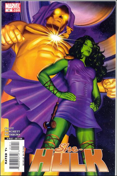 She-Hulk (2005) 12-A by Marvel