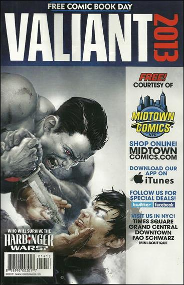 Valiant Comics FCBD 2013 Special 1-C by Valiant Entertainment