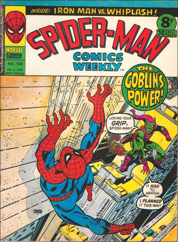 Spider-Man: Comics Weekly (UK) 134-A by Marvel UK