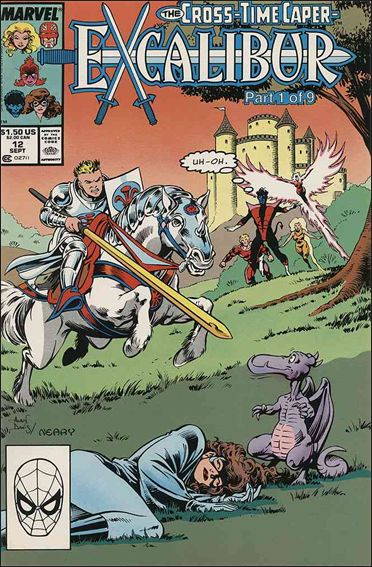 Excalibur (1988) 12-A by Marvel