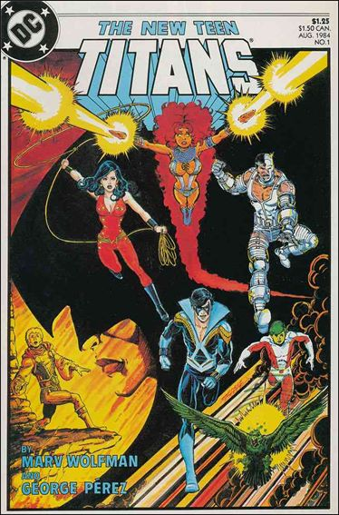 New Teen Titans (1984) 1-A by DC