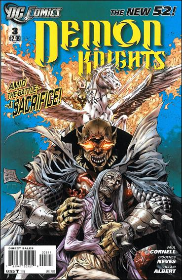Demon Knights 3-A by DC