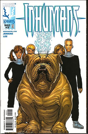 Inhumans (1998) 2-B by Marvel