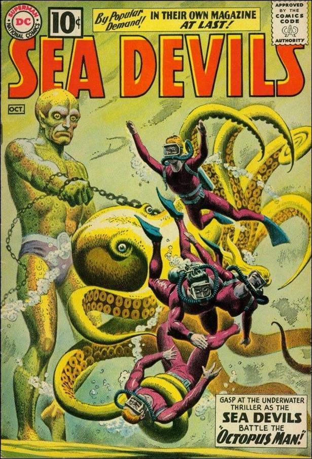 Sea Devils 1-A by DC