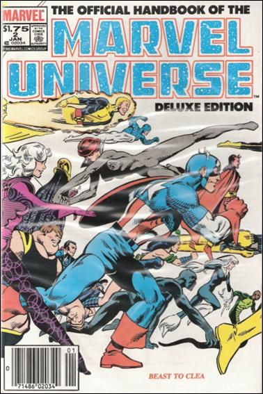 Official Handbook of the Marvel Universe (1985) 2-B by Marvel