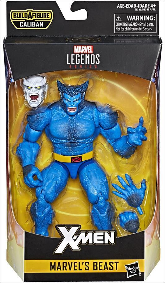 Marvel Legends Series: X-Men (Caliban Series) Beast by Hasbro