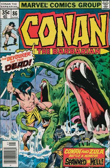 Conan the Barbarian (1970) 86-A by Marvel