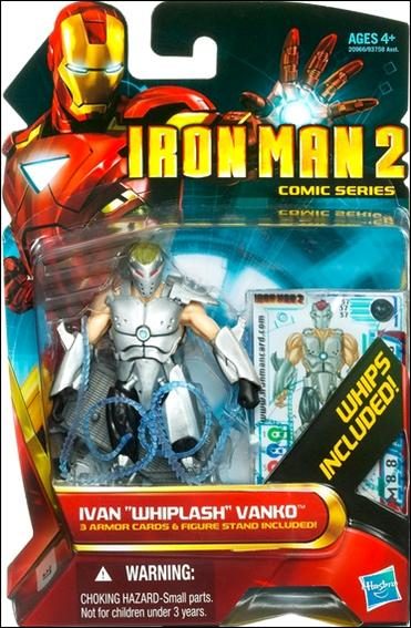 Iron Man 2 Ivan &amp;quot;Whiplash&amp;quot; Vanko (Comic Series) by Hasbro