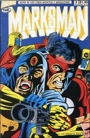 Marksman (1988) 2-A by Hero Comics