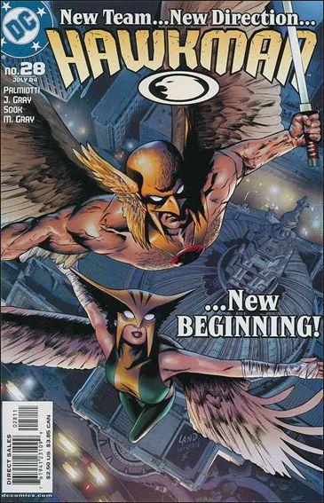 Hawkman (2002) 28-A by DC