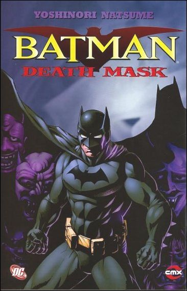 Batman: Death Mask 1-A by CMX