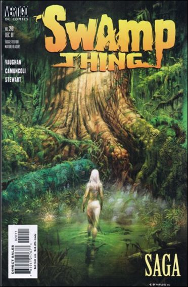 Swamp Thing (2000) 20-A by Vertigo
