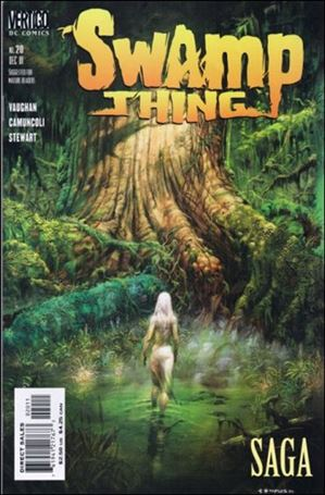Swamp Thing (2000) 20-A