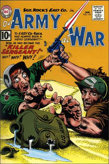 Our Army at War (1952) 114-A by DC