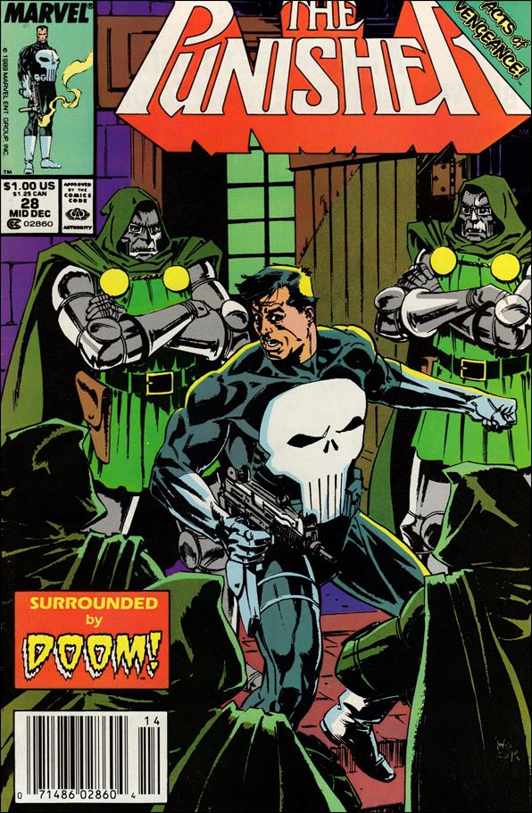 Punisher (1987) 28-A by Marvel