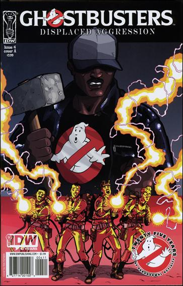 Ghostbusters: Displaced Aggression 4-A by IDW
