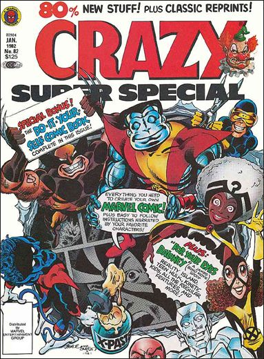 Crazy (1973/03) 82-A by Marvel