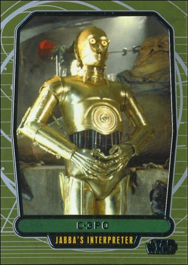 Star Wars Galactic Files (Base Set) 158-A by Topps