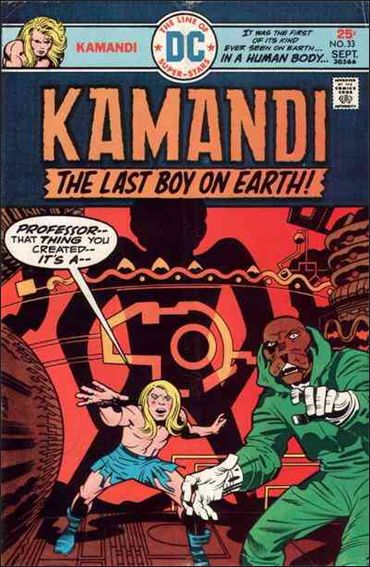 Kamandi, the Last Boy on Earth 33-A by DC