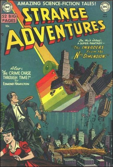 Strange Adventures (1950) 4-A by DC