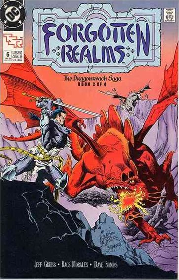Forgotten Realms 6-A by DC