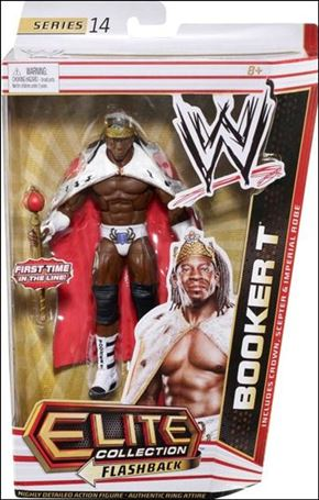 WWE: Elite Collection (Series 14)  Booker T