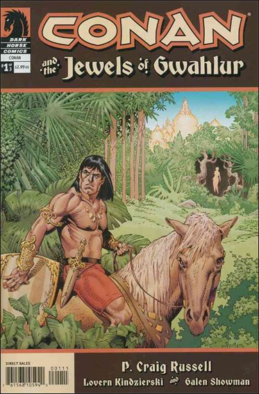 Conan and the Jewels of Gwahlur 1-A by Dark Horse
