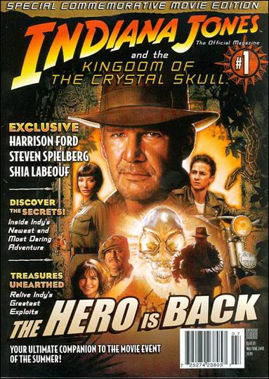 Indiana Jones: The Official Magazine 1-A by Titan Magazines