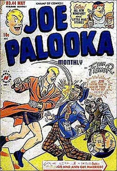 Joe Palooka (1945) 44-A by Harvey