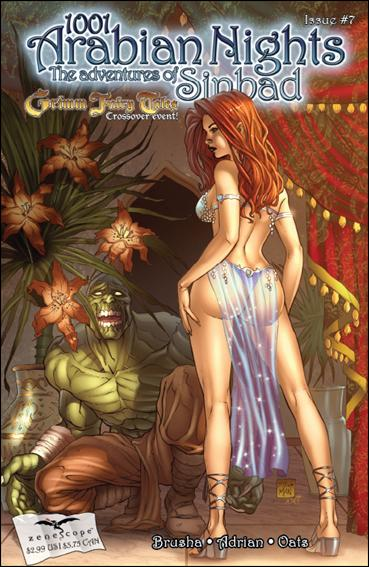 1001 Arabian Nights: The Adventures of Sinbad 7-A by Zenescope Entertainment