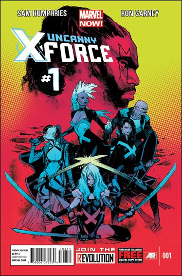 Uncanny X-Force (2013) 1-A by Marvel