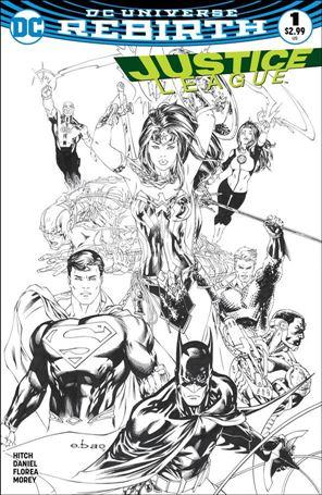 Justice League (2016) 1-T