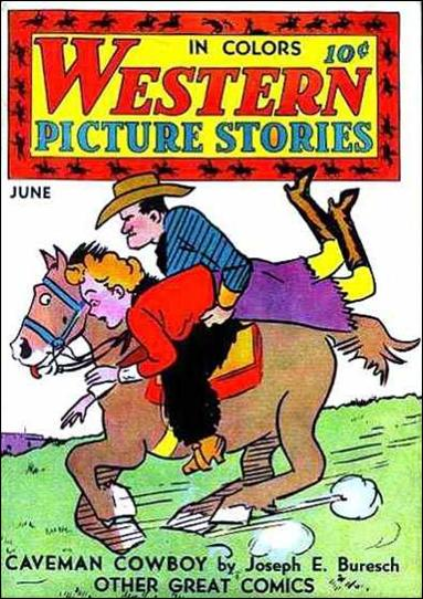 Western Picture Stories 4-A by Comics Magazine
