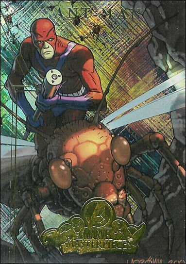 2008 Marvel Masterpieces: Series 2 (Avengers Subset) A1-A by Fleer