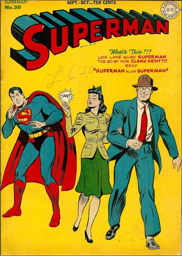 Superman (1939) 30-A by DC