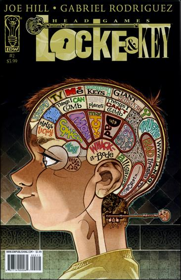 Locke & Key: Head Games 2-A by IDW