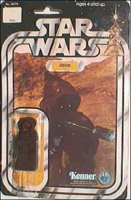 "Star Wars 3 3/4"" Basic Action Figures (Vintage) Jawa (SW 12 Back Cloth Cape) by Kenner"