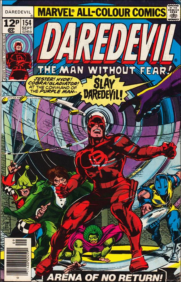 Daredevil (1964) 154-B by Marvel