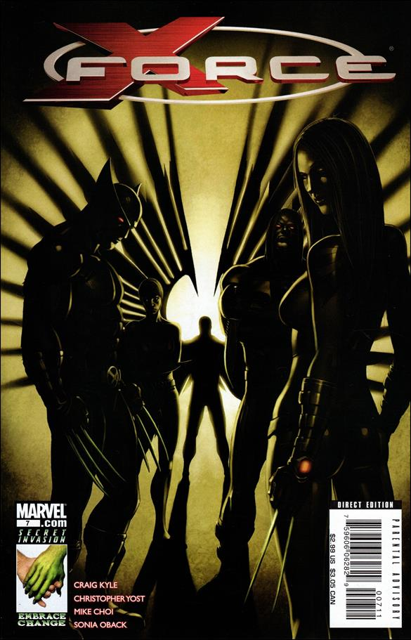 X-Force (2008) 7-A by Marvel