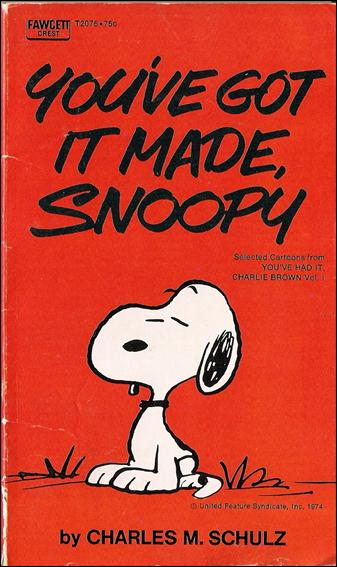 You've Got it Made, Snoopy 1-B by Fawcett