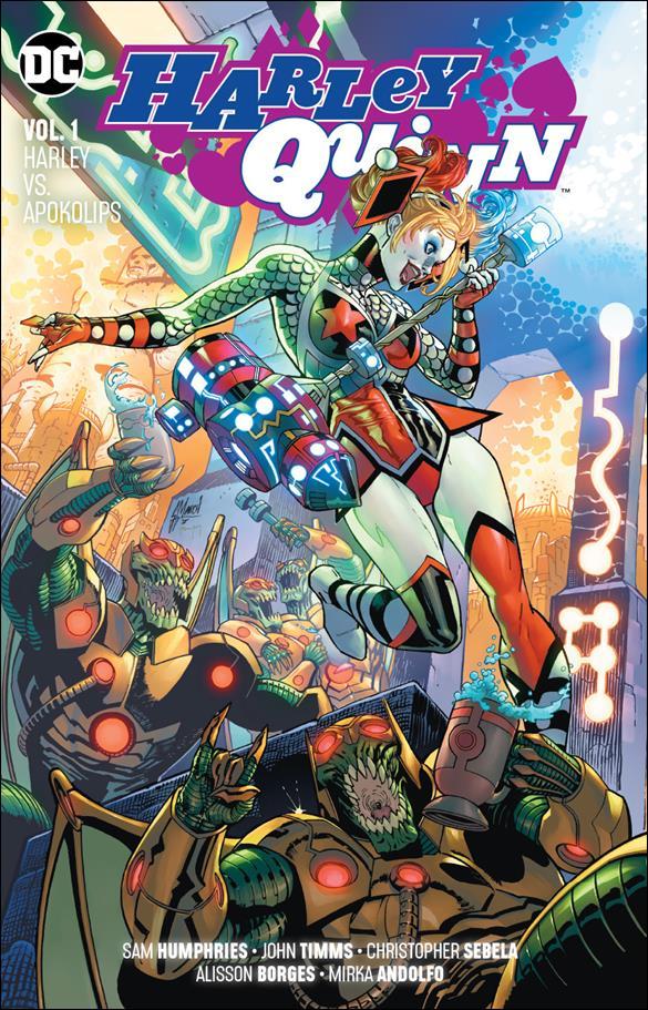 Harley Quinn (2018) 1-A by DC