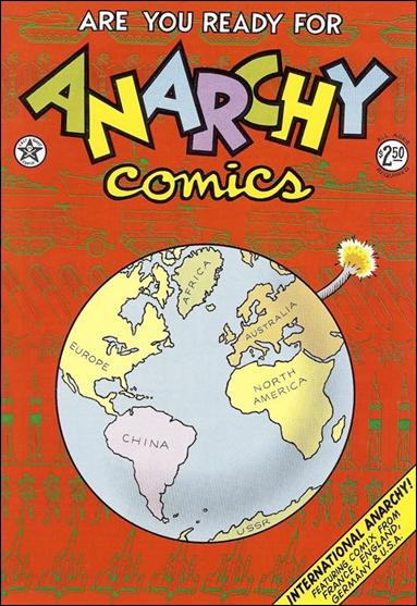Anarchy Comics 1-C by Last Gasp
