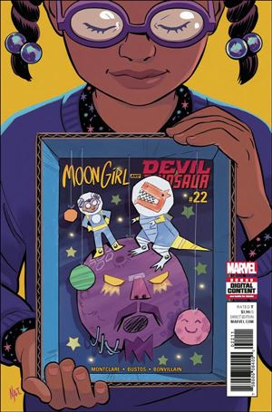 Moon Girl and Devil Dinosaur 22-A
