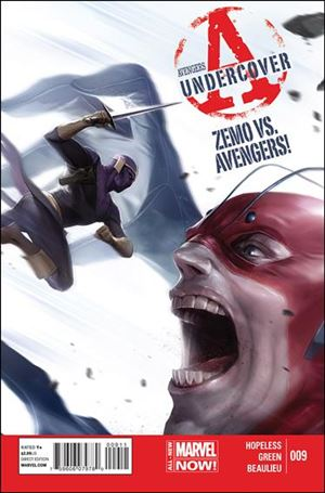 Avengers Undercover 9-A