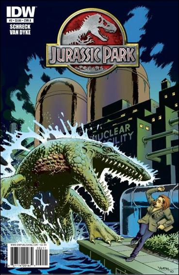 Jurassic Park (2010) 2-A by IDW