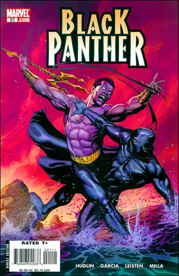 Black Panther (2005) 21-A by Marvel