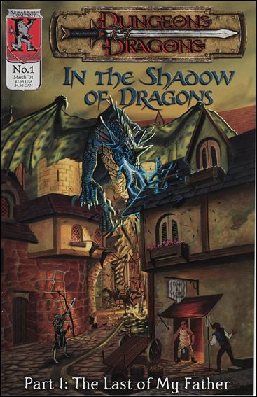 Dungeons and Dragons: In the Shadow of Dragons 1-A by Kenzer and Company