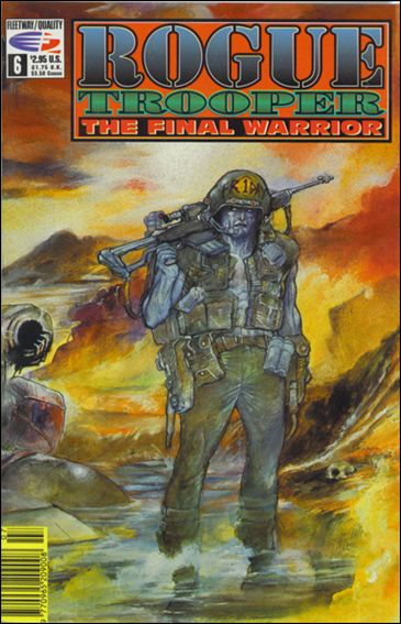 Rogue Trooper The Final Warrior 6-A by Fleetway Quality