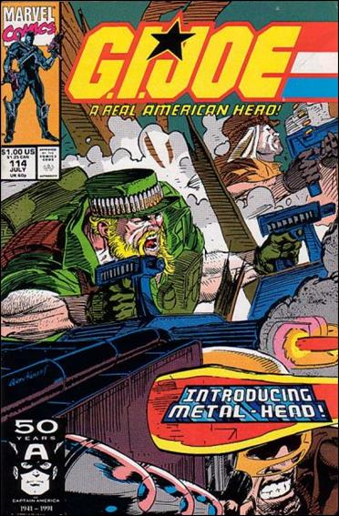 G.I. Joe: A Real American Hero 114-A by IDW