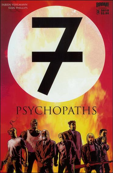 7 Psychopaths 2-A by Boom! Studios